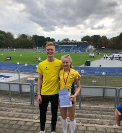 Noah Hermanny und Viktoria Heising